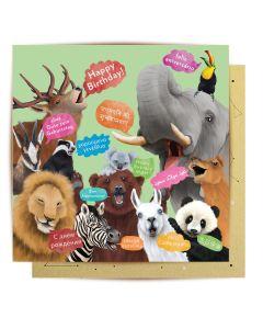 Birthday Card - International Birthday