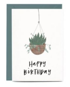 BIRTHDAY - Hanging plant