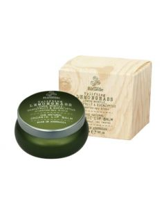 Lip Balm - Uplifting Organic Lemongrass aromatherapy blend