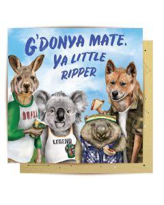 Greeting Card - Ya Little Ripper