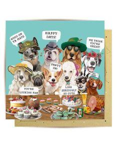 Greeting Card - Dog Days