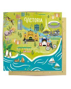 Greeting Card - Victoria