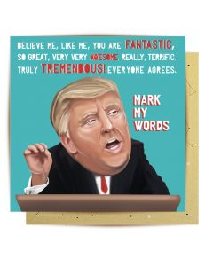 Greeting Card - Tremendous Trump