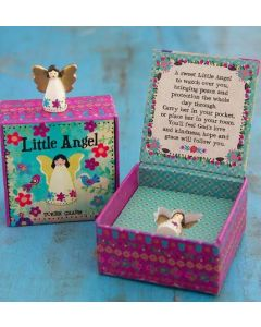 Lucky little ANGEL - token charm in a box