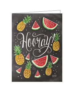 'Hooray!' Card