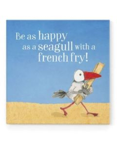 Magnet - Be as happy as a seagull......