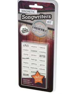 Magnetic Songwriter kit - COUNTRY music