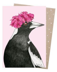 Magpie - Orchid Crowned Magpie