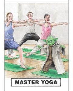 Greeting Card - Master Yoga