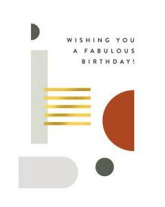 Wishing you a fabulous birthday!