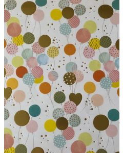 Celebration Balloons - wrapping paper