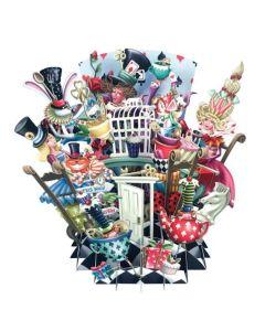 3D Card - Alice in Wonderland