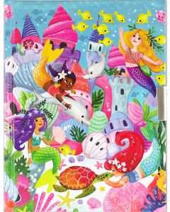 Mermaids Lockable Journal/Diary
