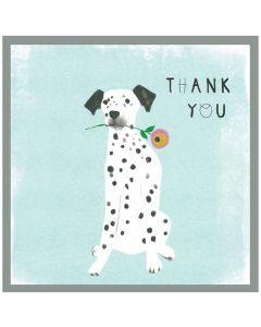 THANK YOU Card - Spotty Dog