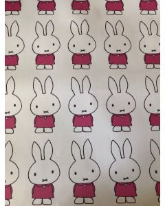 MIFFY bunny folded wrapping paper