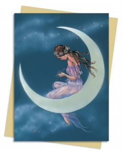 Greeting Card - Moon Maiden