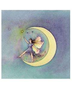STARSHINE Poem card - Fairy & moon