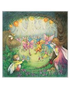 The Faerie Garden - Poem card