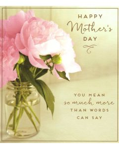 Mother's Day Card - More Than Words Can Say