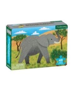 African Elephant 48 Piece Mini Jigsaw Puzzle
