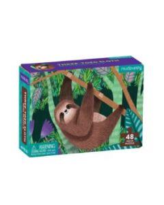 Sloth 48 Piece Mini Jigsaw Puzzle
