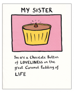 'My Sister...' Card