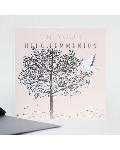 COMMUNION Card - Silver Tree