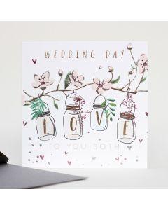 WEDDING Card - Love Jars