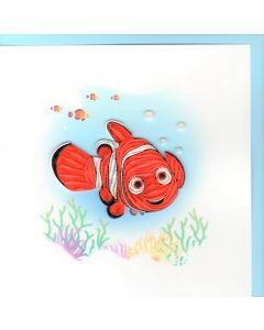 Quilling Card - Nemo Clownfish