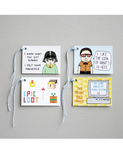 Nerd Gift Tags Pack