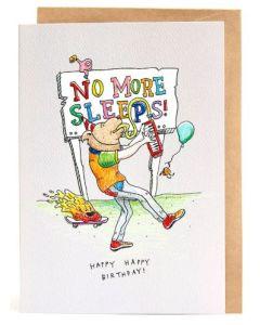 Birthday - No more sleeps