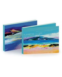 Notecard wallet - Seaside scapes by Donald Hamilton Fraser