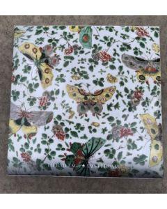 Notecard Wallet - Butterflies & leaves