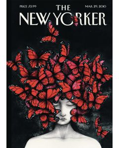 The New Yorker Cover - Butterfly Woman