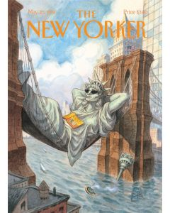 The New Yorker Cover - Liberty Lounge