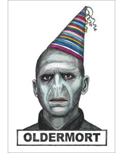 Greeting Card - Oldermort