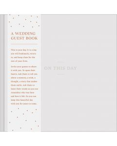 On This Day - Wedding Guest Book