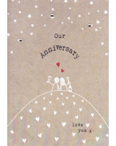 'Our Anniversary' Card