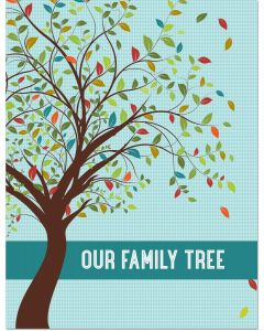 Our Family Tree - fill-in keepsake journal