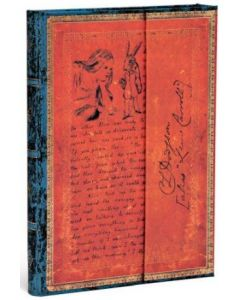 Alice in Wonderland - Midi size Unlined journal