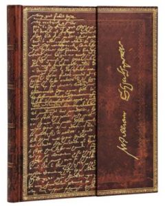 Shakespeare Embellished Manuscript - Ultra size Lined Journal