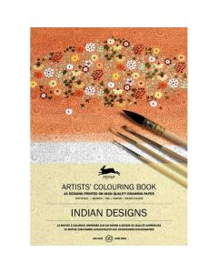 Artists' Colouring book - Indian Designs