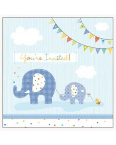 Jumbo Joy Boy Invitations