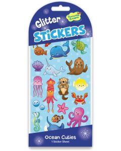 Glitter Stickers - Ocean Cuties