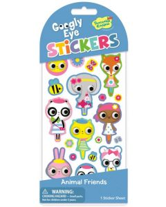 Googly Eye Stickers - Animal Friends