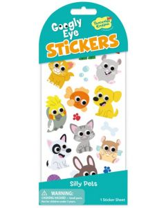 Googly Eye Stickers - Silly Pets