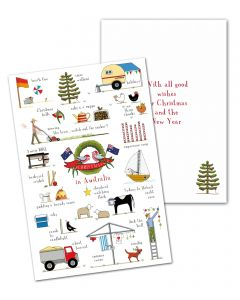 Christmas in Australia 10 Card Pack
