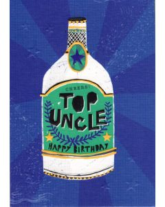 UNCLE Birthday Card - Top Uncle