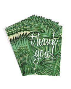 Thank You Cards - Palm Leaves (10 cards)