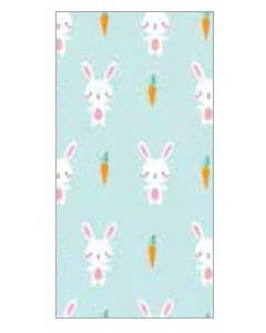 Bunny & Carrot Tissue Paper - 3 Sheets